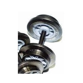 Trix 36669300 Hjulaxel ekerhjul, 1 st, DC, 11 mm hjuldiameter, med tapplager