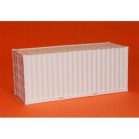 AMW 90630 Container 20-fots, vit, omärkt
