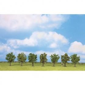 Noch 25090 Fruktträd, gröna, 7 st, 8 cm höga