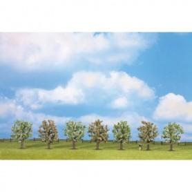 Noch 25092 Fruktträd, blommande, 7 st, 8 cm höga