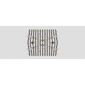 Märklin 59094 Parallellspårs-växel - mittdel (H1096)