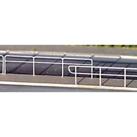 Fryk 210 Moderna staketvarianter, omålad byggsats i nysilver