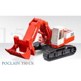 Conrad 29240 Bandgrävare Poclain 350 CK Crawler Excavator