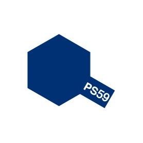 """Tamiya 86059 Sprayfärg PS-59 Mörk Metallicblå """"Dark Metallic Blue"""", innehåller 100 ml"""