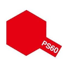 """Tamiya 86060 Sprayfärg PS-60 Ljus Micaröd """"Bright Mica Red"""", innehåller 100 ml"""