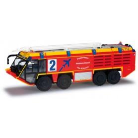 """Herpa 090094 Ziegler Z8 airfield fire truck """"Airport Hamburg"""""""