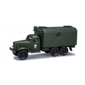 "Herpa 744065 ZIL 164 box trailer ""WP / Polnische Armee"""