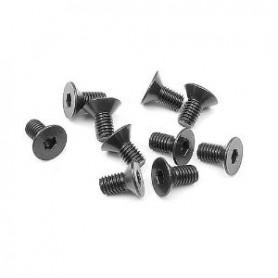 XRay 903306 Skruv, insex, försänkt, M3x6mm, 10 st