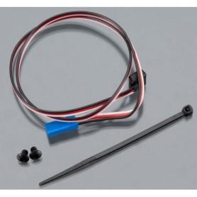 Traxxas 6520 TQi Varvtalssensor RPM, lång, 3x4 mm BCS, 1 st