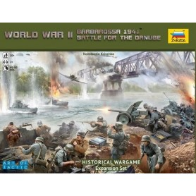 "Zvezda 6177 Historical Wargame ""Barbarossa 1941 Battle for the Danube"""
