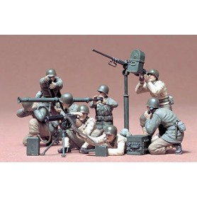 Tamiya 35086 Figurer U.S. Gun & Mortar Team Set