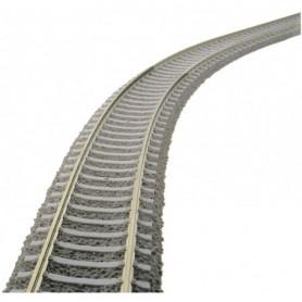 Fleischmann 6109 Flexräls, betongslipers, längd 800 mm