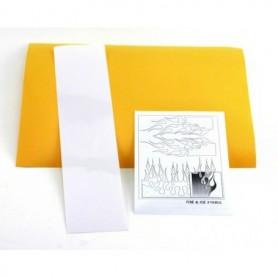 """Parma PSE 10825 Paint Mask """"Fire & Ice Design"""", med transfertape och instruktioner, 1 set"""