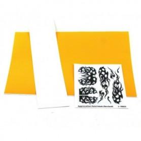 """Parma PSE 10823 Paint Mask """"Aggravation Design"""", med transfertape och instruktioner, 1 set"""