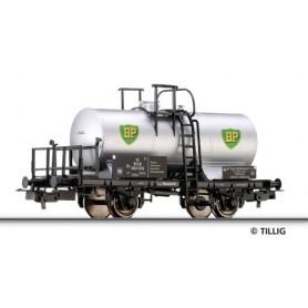 """Tillig 76558 Tankvagn Ze 503 676 typ DSB """"BP"""""""