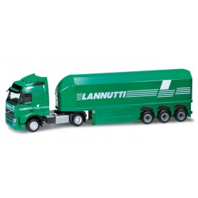 "Herpa 301282 Volvo FH GL glass transporter semitrailer ""Lannutti"" (I)"