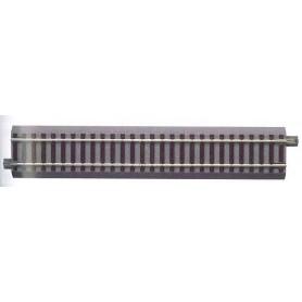 Roco 61110.1 Rak skena G200, längd 200 mm med strömanslutning utan störningskondensator