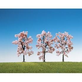 Faller 181406 Japanska körsbärsträd, blommande, 3 st, höjd 80 mm