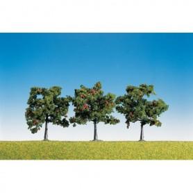 Faller 181403 Äppelträd med frukter, 3 st, höjd 80 mm