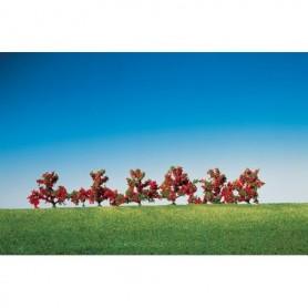 Faller 181476 Buskar med röda blommor, 6 st, höjd 40 mm