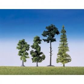 Faller 181495 Mixad skog, 15 st, höjd 90-150 mm