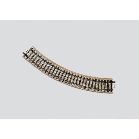 Märklin 5120 Böjd skena, längd 1/1, 45, liten radie för sidosträckor och industribanor