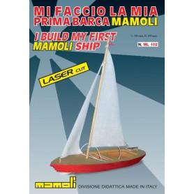 """Mamoli ML102 La Mia Prima Barca """"Laser Cut"""""""