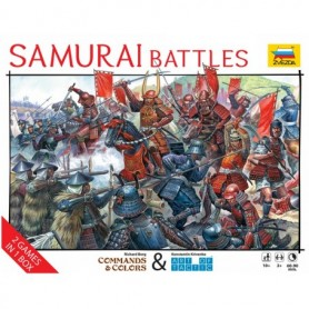 "Zvezda 6413 Historical Wargame ""Samurai Battles"""