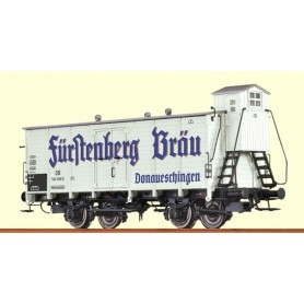 """Brawa 48269 Godsvagn 546 038 P typ DB """"Fürstenberg Bräu Donaueschingen"""""""