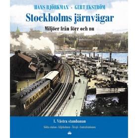 Media BOK145 Stockholms järnvägar, del 1 - Västra stambanan
