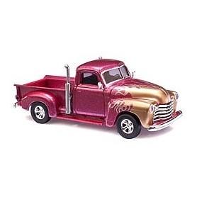 Busch 48201 Chevrolet Pick-up »Flamme«, rödmetallic