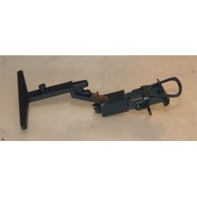 Roco 129228 Koppelficka, svart, med Rocos standardkoppel monterat, 1 st