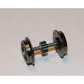 Hobby Trade 99925 Drivaxel, AC, med kugghjul, utan slirskydd, 11.4 mm, axellängd 20 mm, 1 st