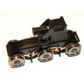 Hobby Trade 99928 Drivning, utan släpsko men med fäste för släpsko AC, komplett med hjul, 1 st