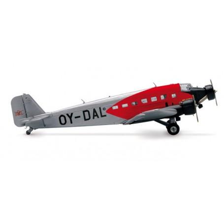 Herpa 019293 Flygplan DDL Danish Air-Lines Junkers Ju-52