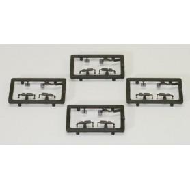 AMW 90174 Backspeglar Dragbil MB Actros MP3, 4 st