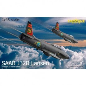 Tarangus 4802 Flygplan SAAB J32B Lansen, Swedish Air Force Fighter