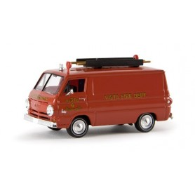 "Brekina 34360 Dodge A 100 Van ""Fire Rescue N.Y."", TD"