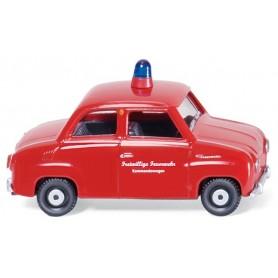 """Wiking 86120 Glas Goggomobil """"Feuerwehr"""", 1964."""