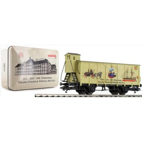 """Märklin 48217 Godsvagn G10 med bromskur """"IMA 2017 - Modellbahn Treff 2017"""""""