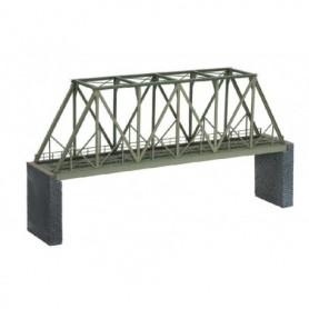 Noch 67029 Fackverksbro med balkar, rak, längd 360 mm, laserskuren
