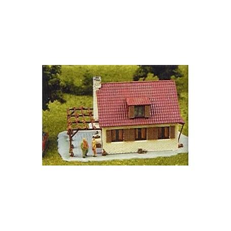 Heljan 1781 Hus med trädgård