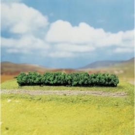 """Faller 181350 Häckar ljusgröna, 3 st, mått 160 x 25 x 20 mm """"PREMIUM"""""""