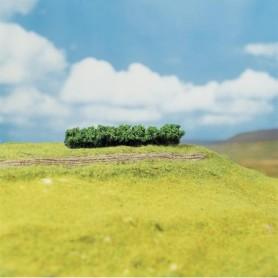 """Faller 181356 Häckar ljusgröna, 4 st, mått 100 x 15 x 10 mm """"PREMIUM"""""""