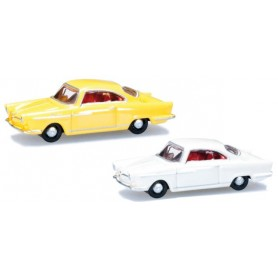 Herpa 065757.2 Passenger cars set NSW Sport Prinz, yellow and white