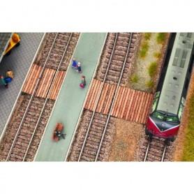 Noch 14304 Järnvägsövergång, 11,8 x 4,0 cm