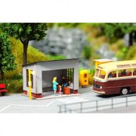 Noch 14348 Busshållplats, 5,2 x 4,0 x 3,6 cm
