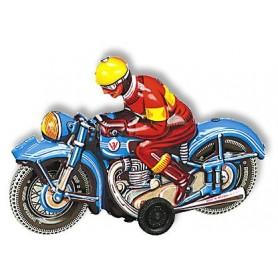 Wilesco 10589 Motorcykel blå