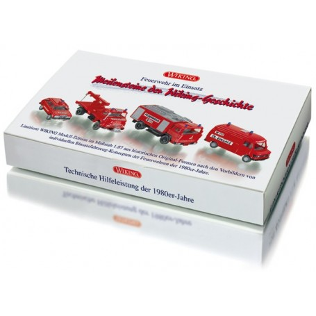 "Wiking 99081 Set ""Fire Service Support Vehicles"""