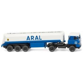 "Wiking 78005 Bil & Tanktrailer Scania 111 ""ARAL"""